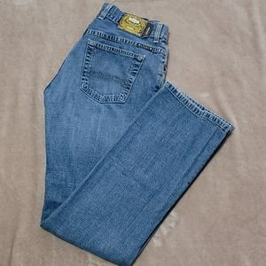 Women's easy rider lucky jeans.